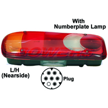 Genuine Vignal 152170 LC5 Rear Combination Tail Lamp/Light Unit For DAF LF Nissan Cabstar Renault Premium Volvo FE FL